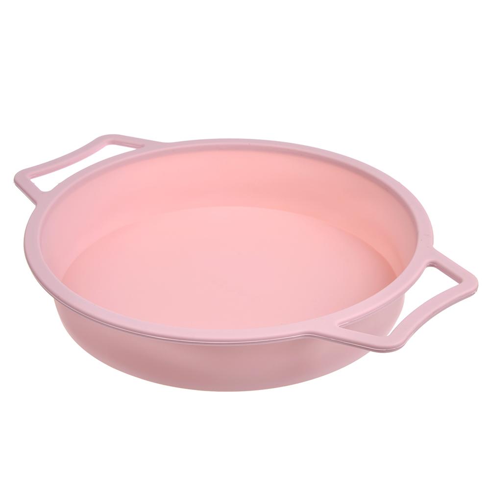 Форма для выпечки SATOSHI, d24,5x4,7 см, с каркасом, силикон