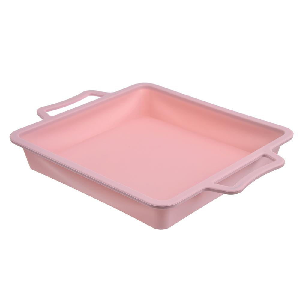 Форма для выпечки, с каркасом, силикон, 22,5x4 см, SATOSHI