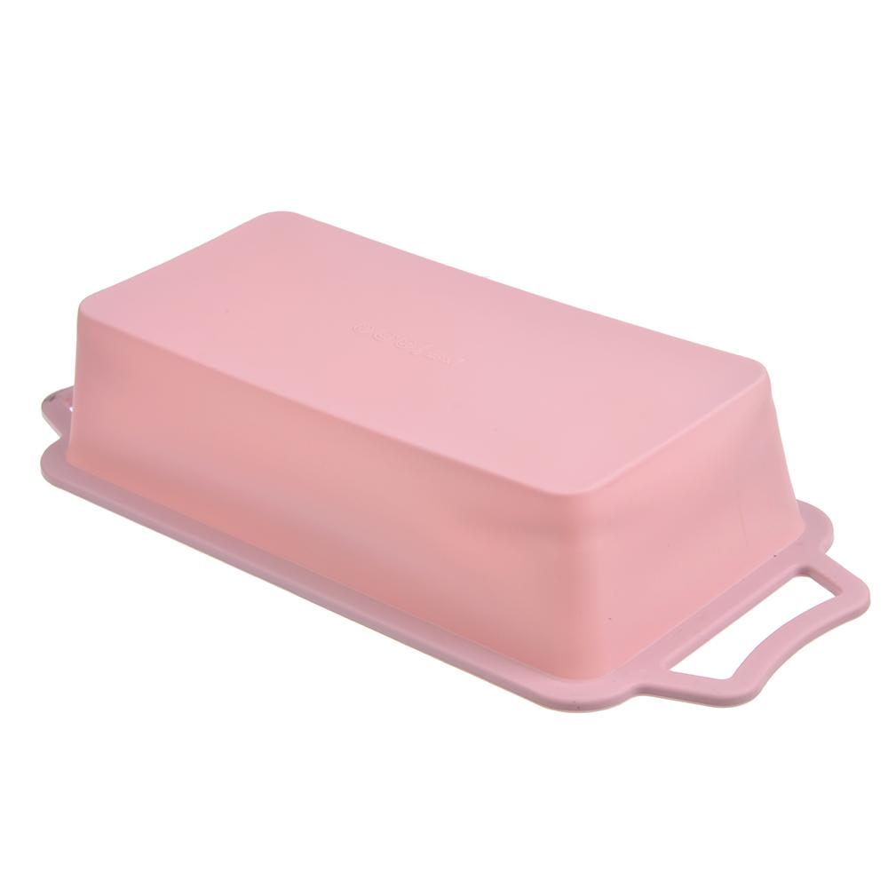 Форма для выпечки, с каркасом, силикон, 27x13,7х6,4 см, SATOSHI