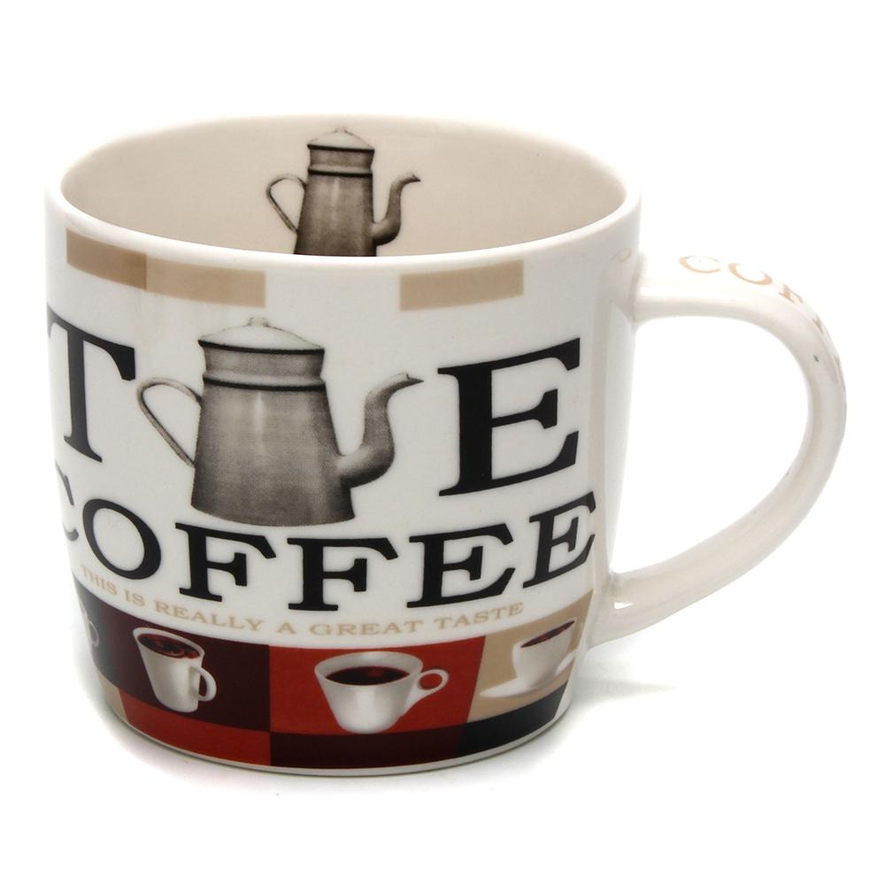 Кружка 250мл, фрф, Кофе-1, 4 дизайна