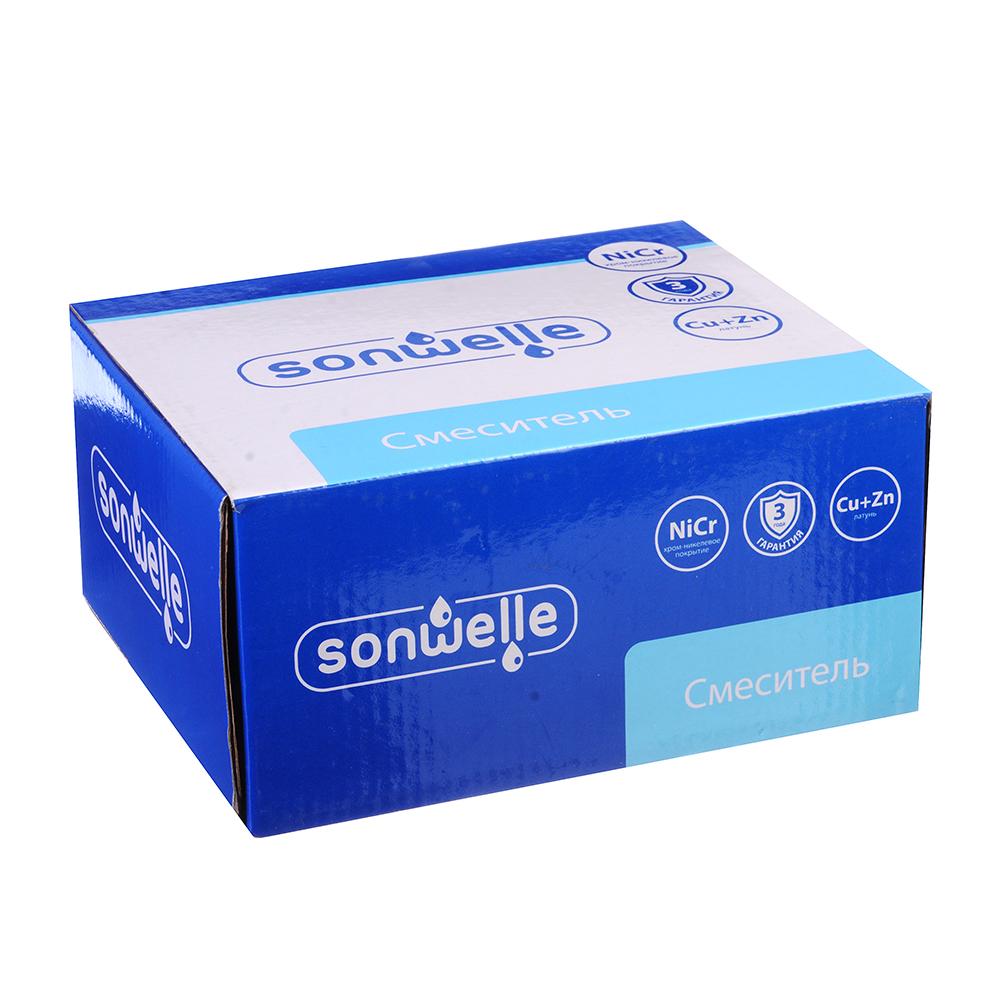 """Смеситель для раковины, картридж 35 мм, латунь, """"Галактика"""" SonWelle"""