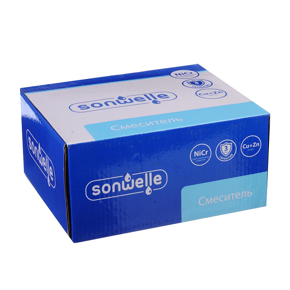 """Смеситель для раковины, картридж 35 мм, латунь, """"Мира"""" SonWelle"""