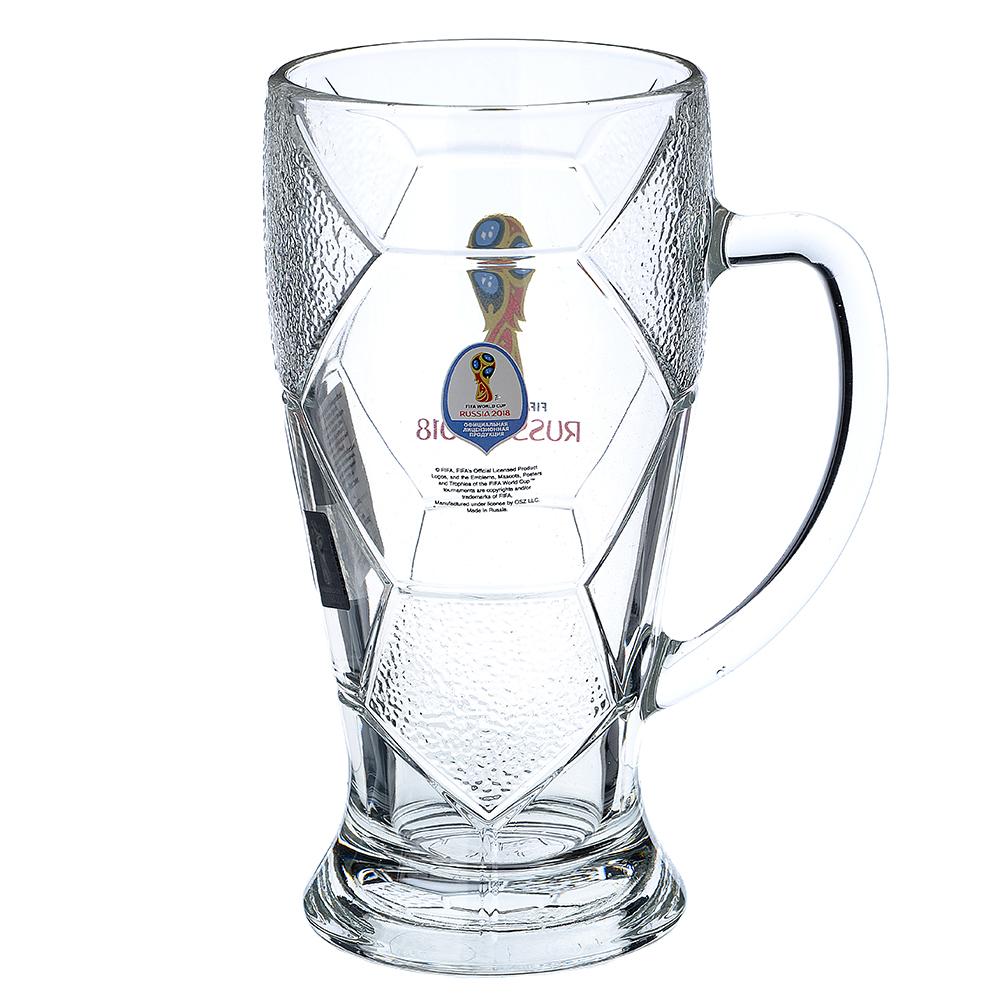 """ОСЗ FIFA Кружка для пива """"Лига"""" 500 мл """"Эмблема"""", арт 6948/0"""