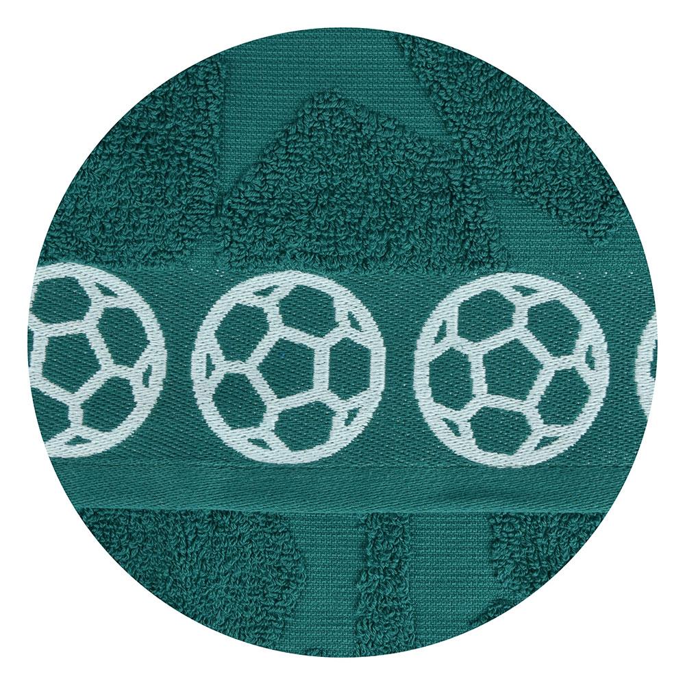 "Полотенце махровое, 100% хлопок, 70х130см, 450гр/м, ""Футбол"", 4 дизайна"
