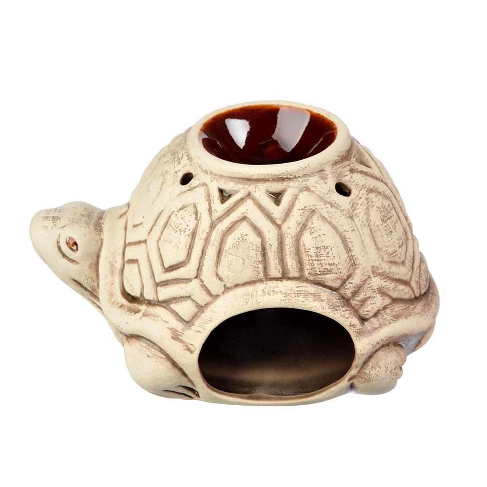 Аромалампа керамическая, Черепаха, керамика, 8x9,5x14 см