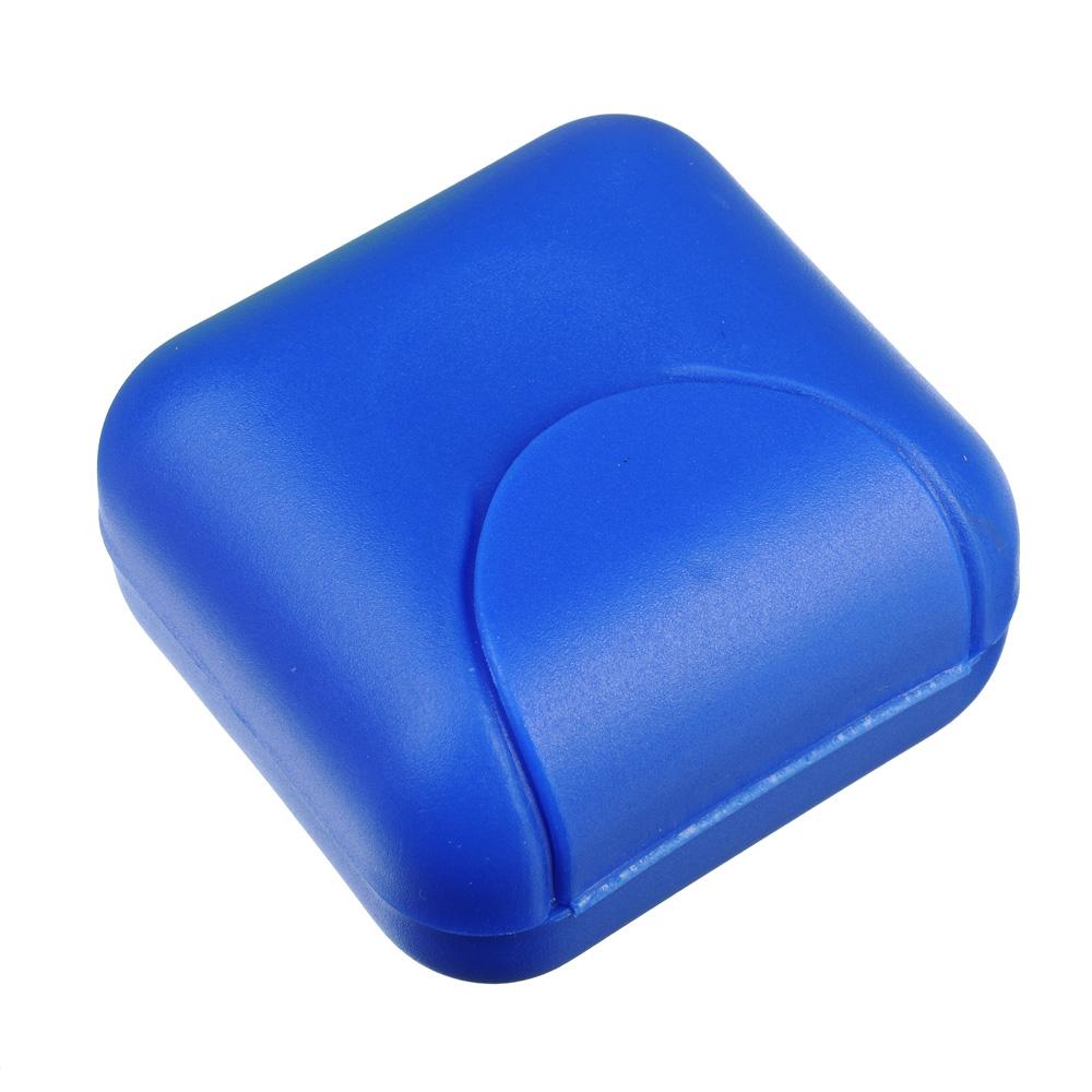 Мыльница в виде конверта смол, 7х7х4см, пластик, 3 цвета