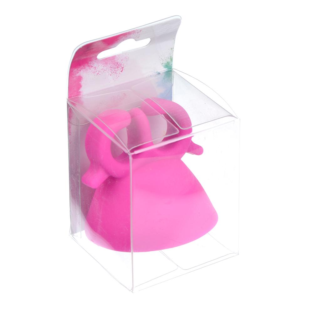 Держатель флакона лака для ногтей, силикон, 5,5х5,5см