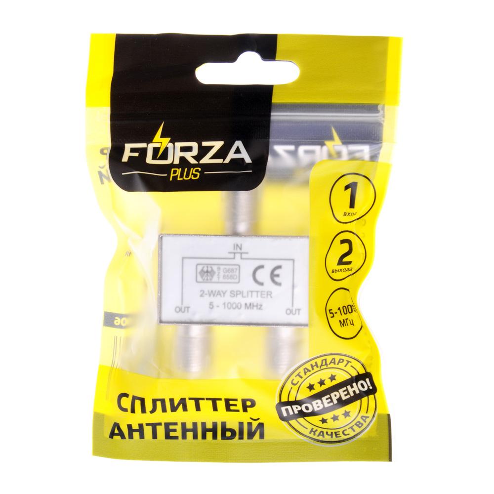FORZA Сплиттер антенный, 2 выхода, 5-1000 МГц