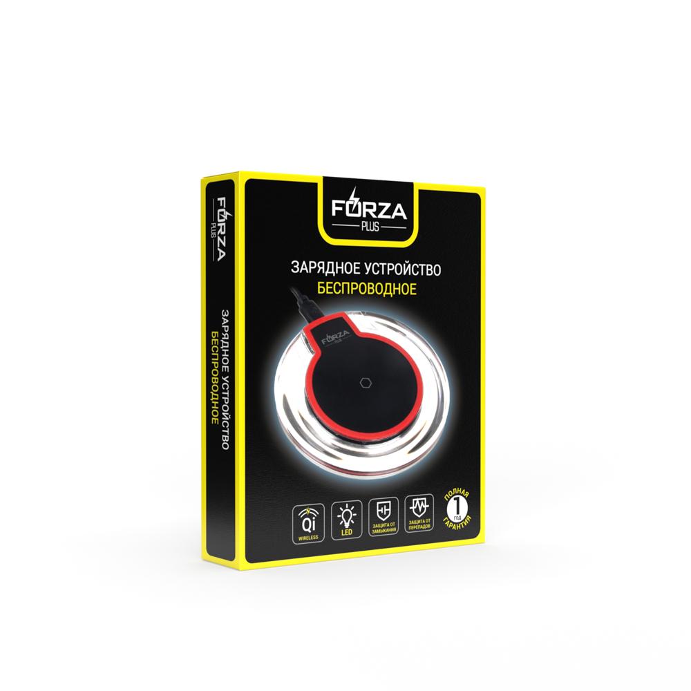 FORZA Беспроводное зарядное устройство, D 10см, micro-USB