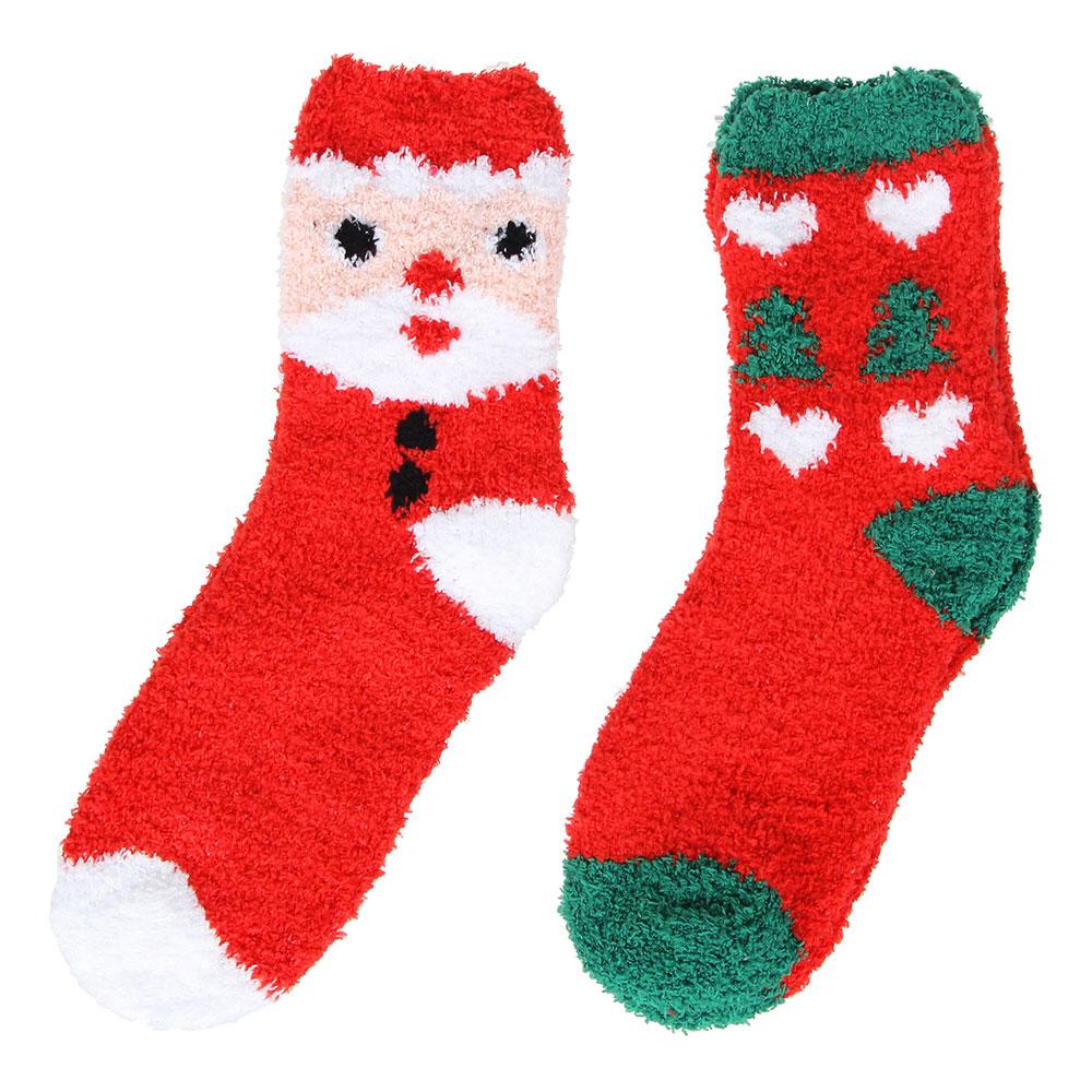 Носки махровые женские, единый р-р, 80% хлопок, 17% полиэстер, 3% лайкра, 2 цв., #2