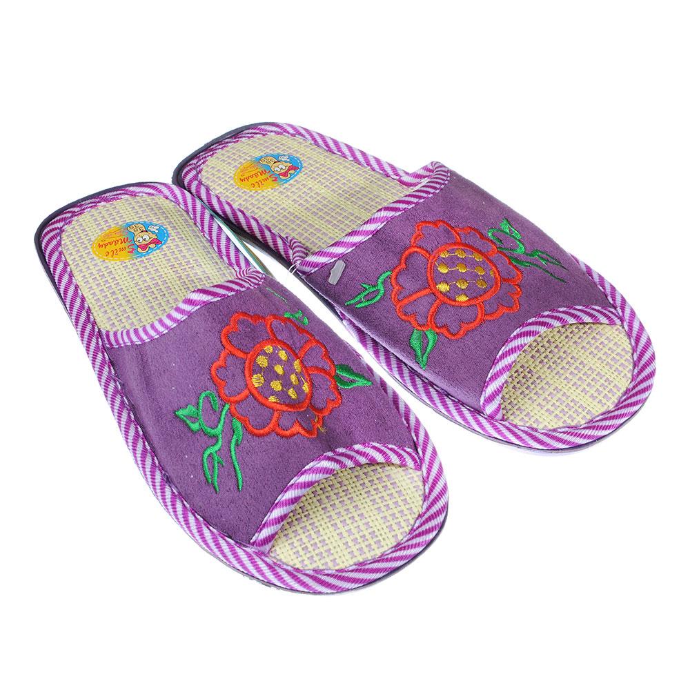 Туфли комнатные женские, размер 36-41, открытый носок, А70-052