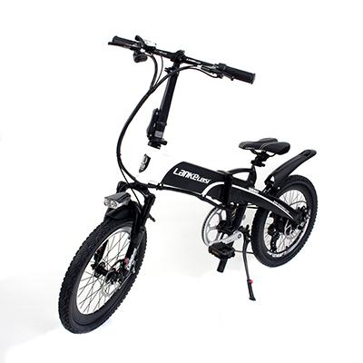 LANKE LEISI Велогибрид G660, 20 дюймов, 157х110 см, акк. 48V10A