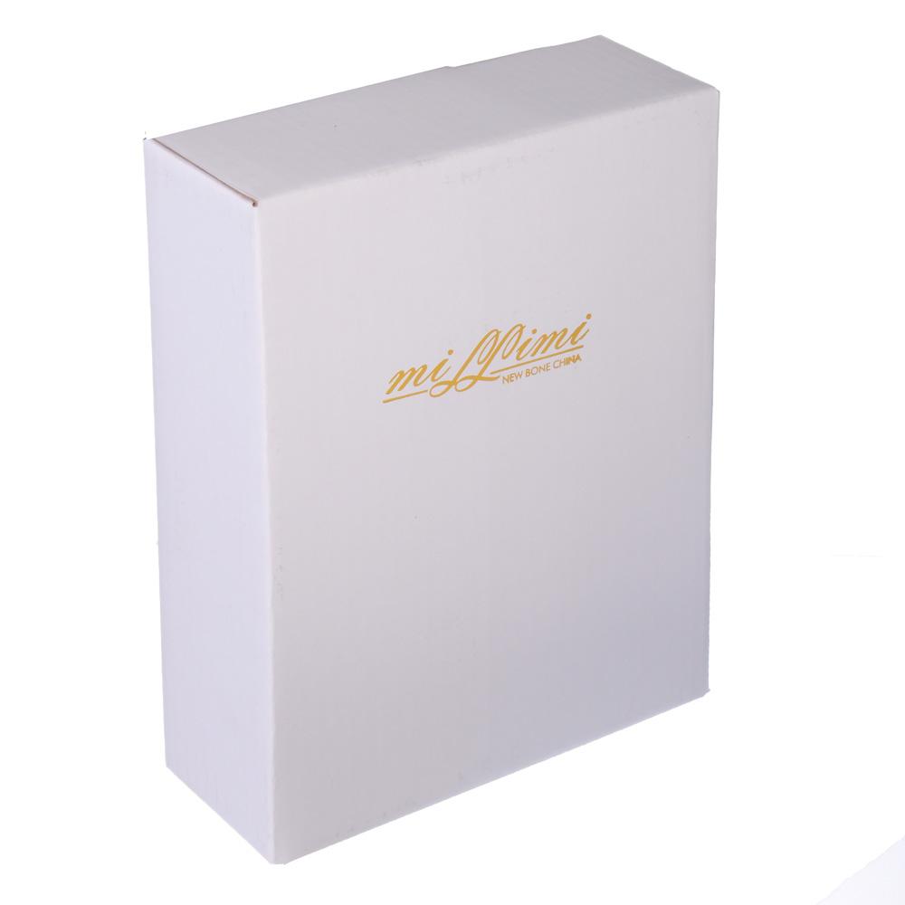 """Салатник овальный, костяной фарфор, 16.5x13x4.5 см, MILLIMI """"Грация"""""""