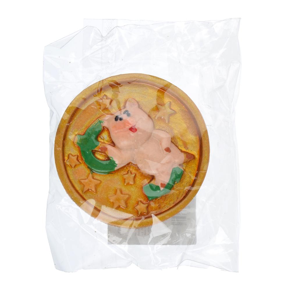 СНОУ БУМ Магнит Символ года, полистоун, 4,3 см, 5 видов