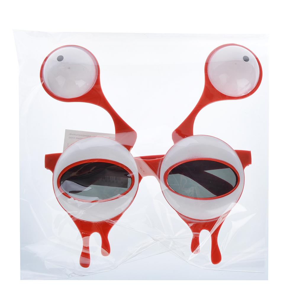 Очки карнавальные, пластиковые, 15,5х16,5 см, в форме глаз, СНОУ БУМ