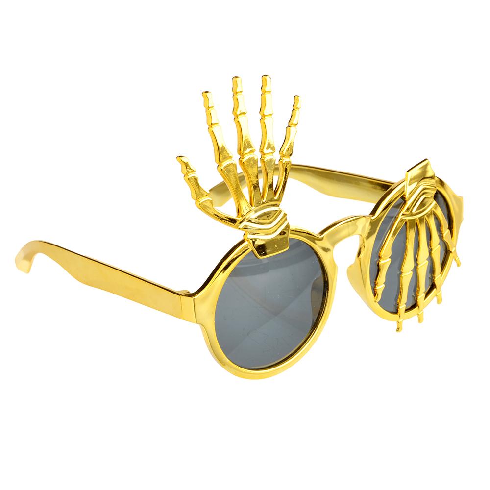 Очки карнавальные, пластиковые, 14,5х12 см, в форме рук, СНОУ БУМ
