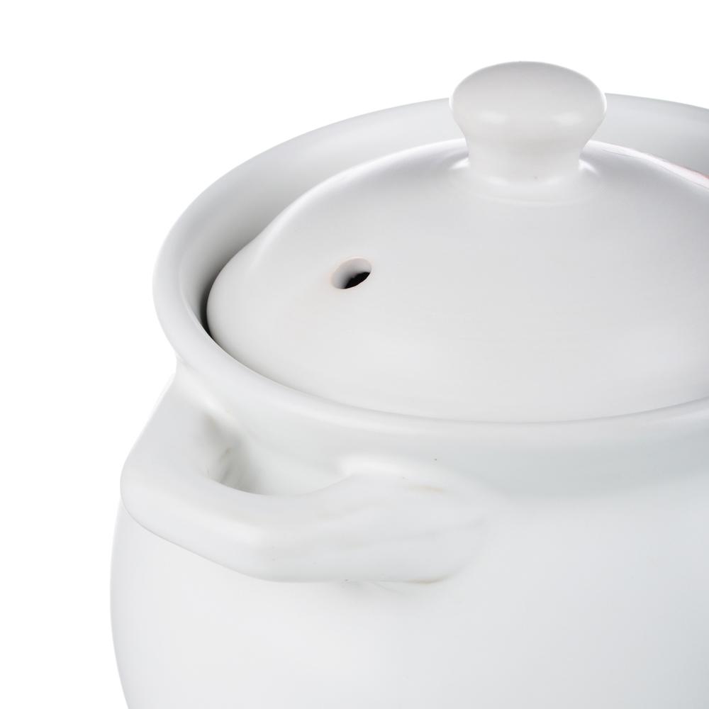 Кастрюля 1,1 л MILLIMI Аппетит, керамическая с крышкой, 3 дизайна