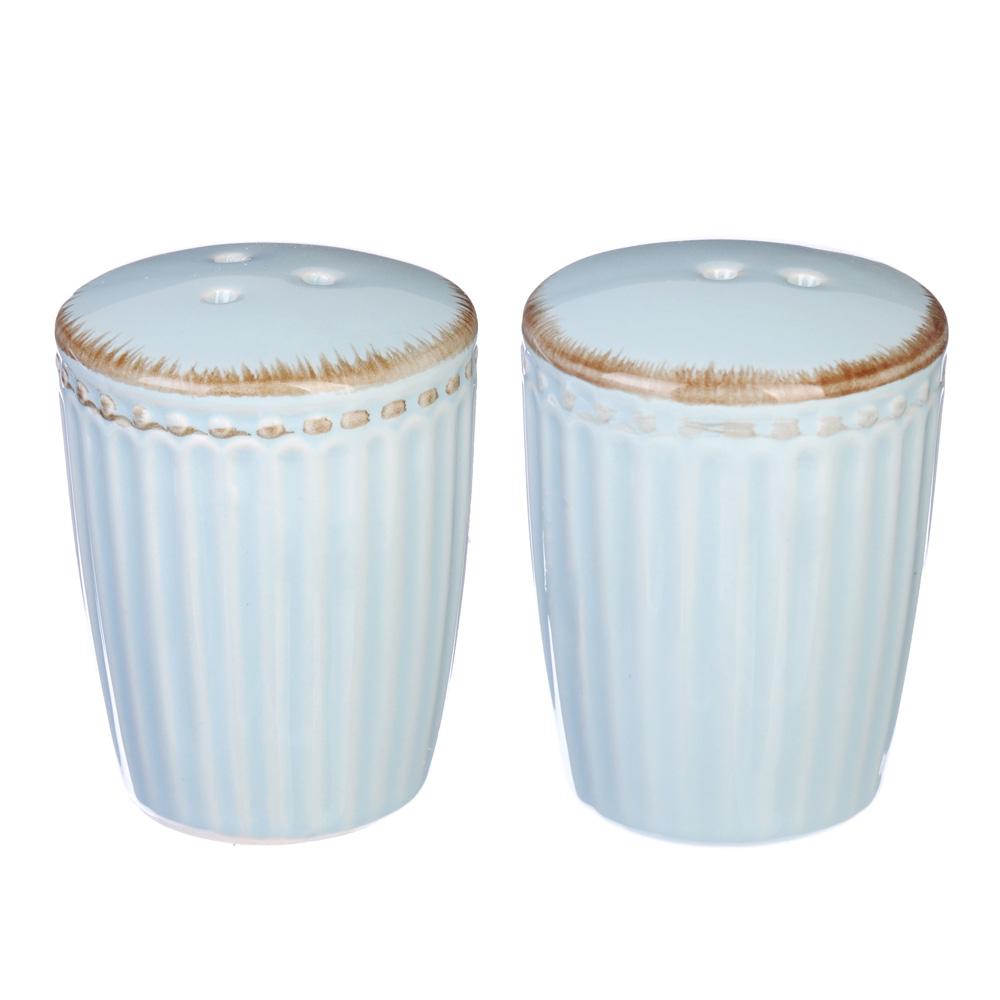 """Набор для соли и перца, керамика, 5х7 см, MILLIMI """"Аромат"""""""