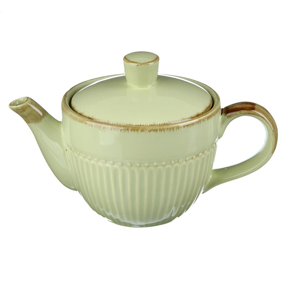 """Чайник заварочный 850 мл, керамика, MILLIMI """"Олива"""""""