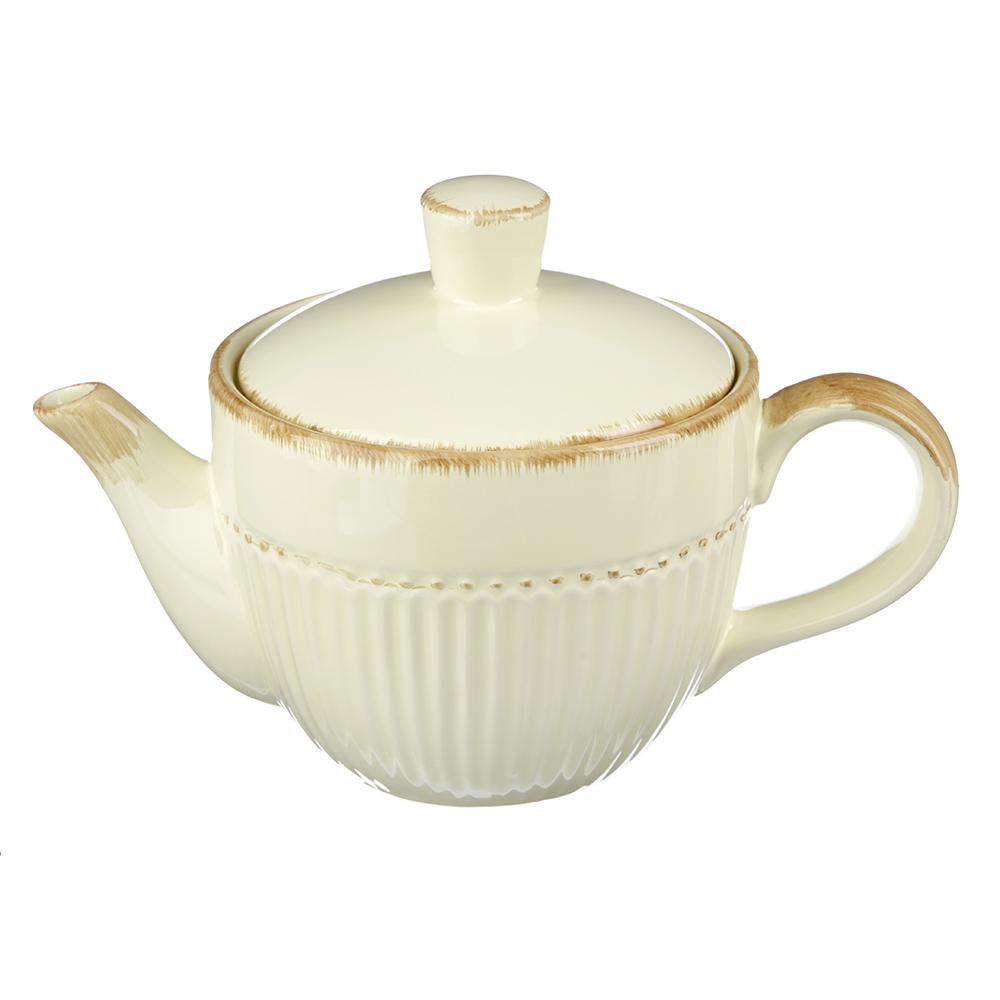 "Чайник заварочный 850 мл, керамика, MILLIMI ""Ваниль"""
