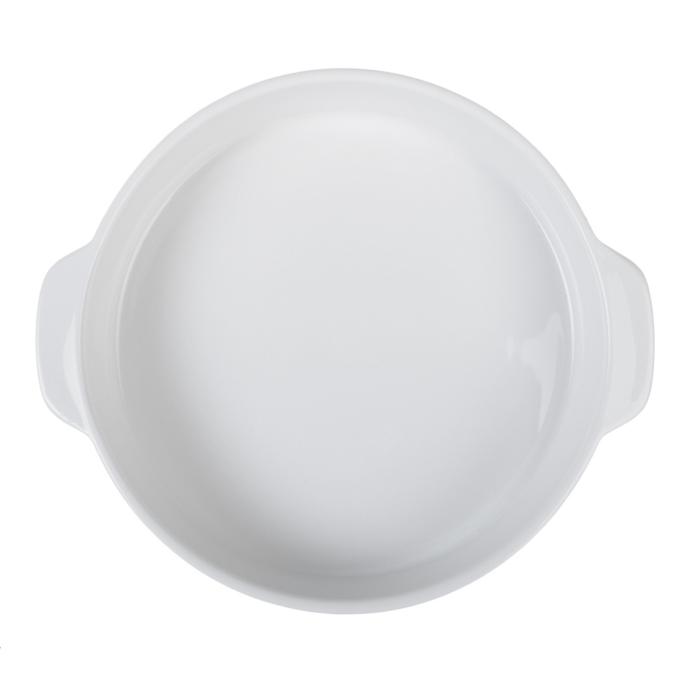 Форма для запекания MILLIMI Жемчуг, 26х23х4,5 см, круглая с ручками