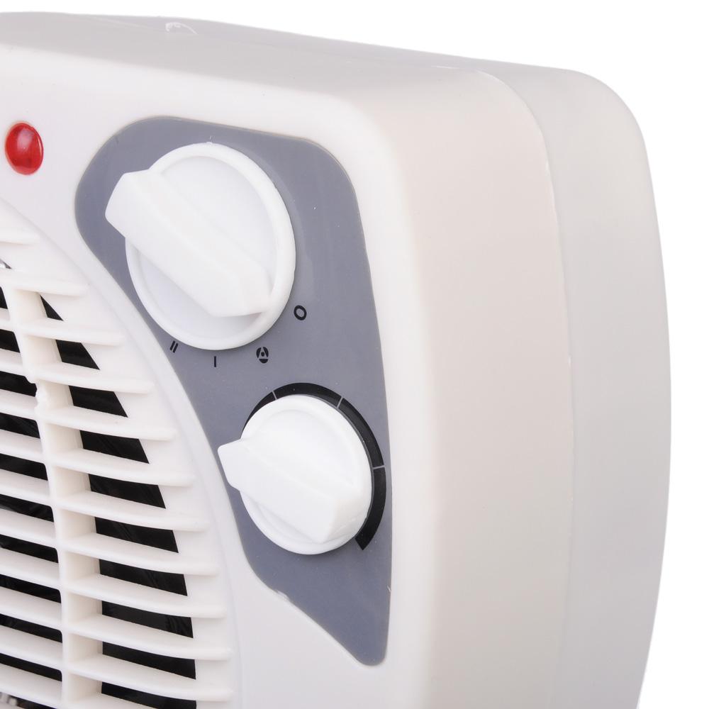 LEBEN Тепловентилятор HL-12 ,2 режима, 1000/2000Вт, термостат, защита от перегрева, индикатор вкл