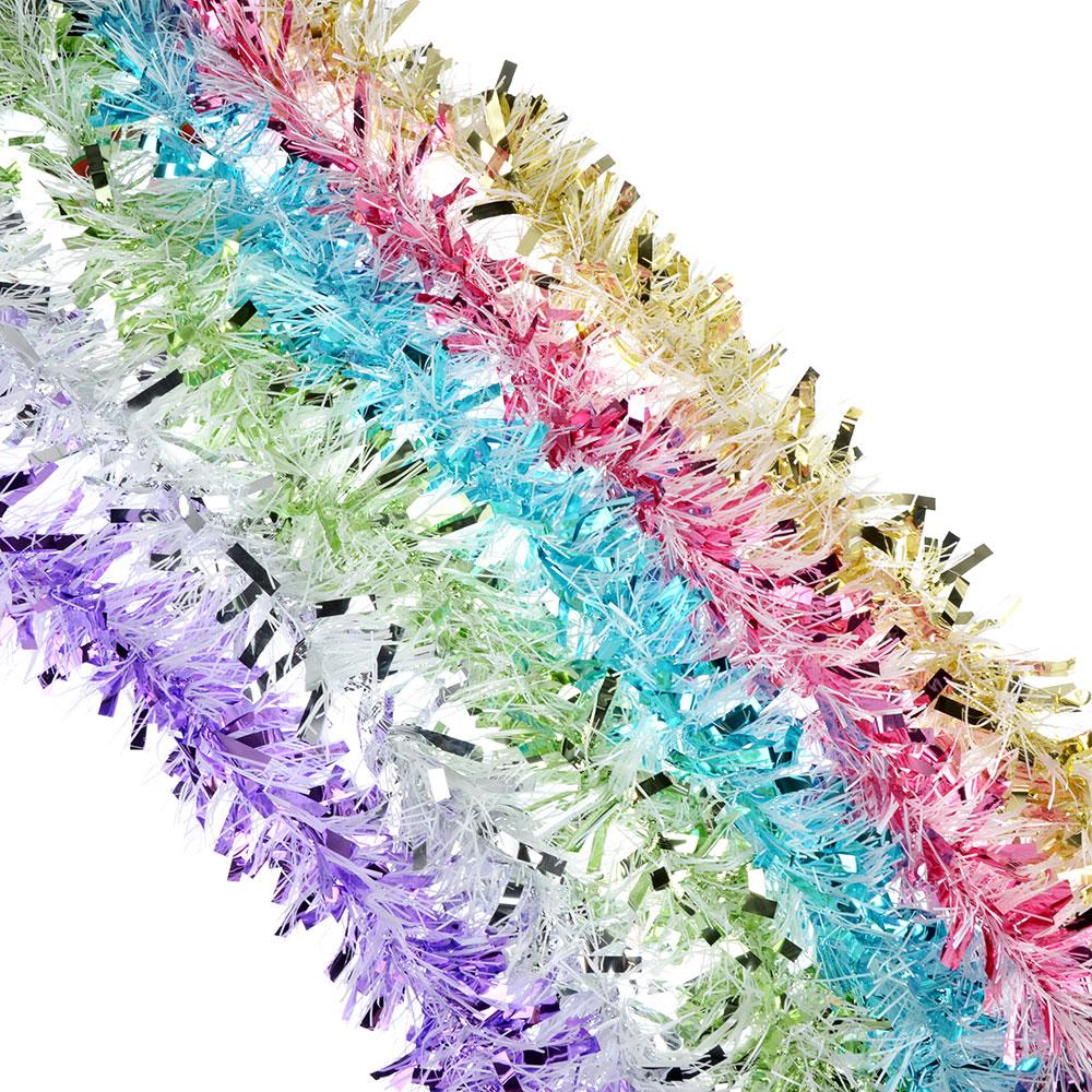 СНОУ БУМ Мишура 9x200см, ПВХ, 6 цветов, арт3