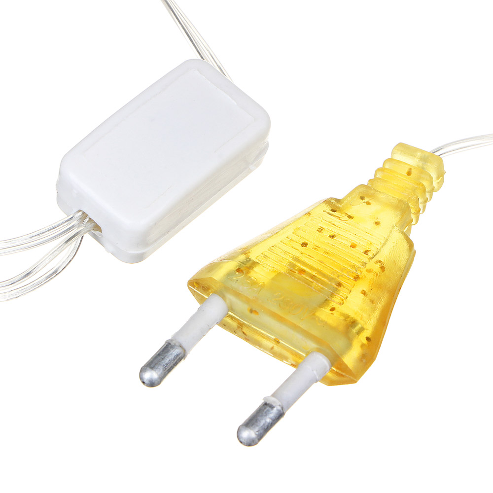 Гирлянда электрическая Вьюн СНОУ БУМ 10 м, 100LED, мерцание 10 LED, шампань, мерцание