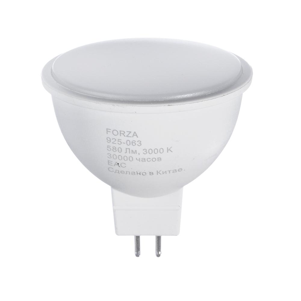 FORZA Лампа светодиодная MR16, GU5.3 8W, 580lm, 3000К