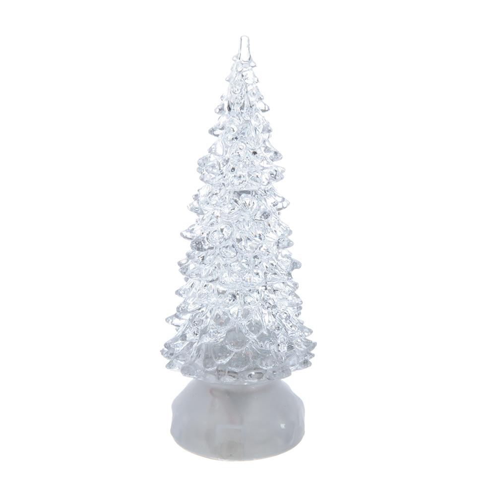 СНОУ БУМ Светильник LED, пластик, в виде елки, 21х7 см, 3 режима, арт 1