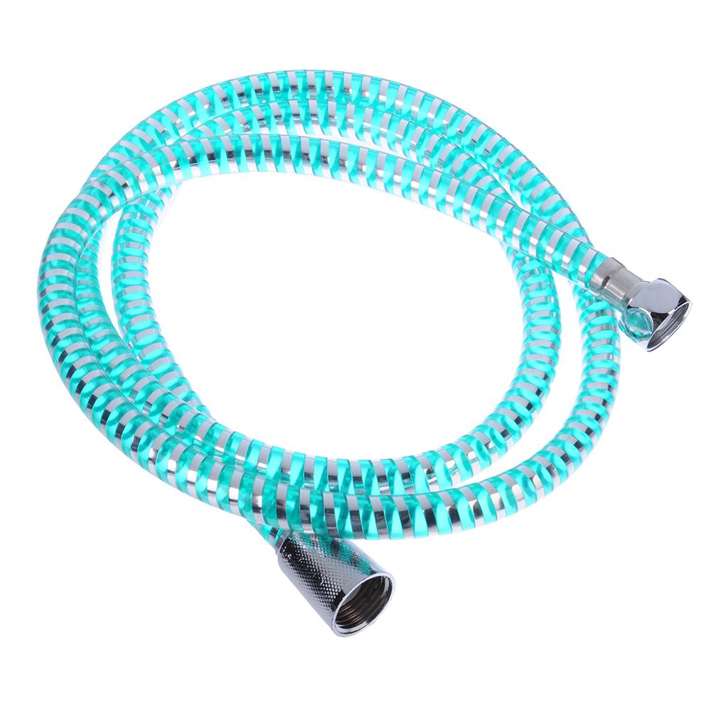 "SonWelle Шланг для душа 150см, 1/2""(Имп)-1/2""(Имп), пластик, зеленый"