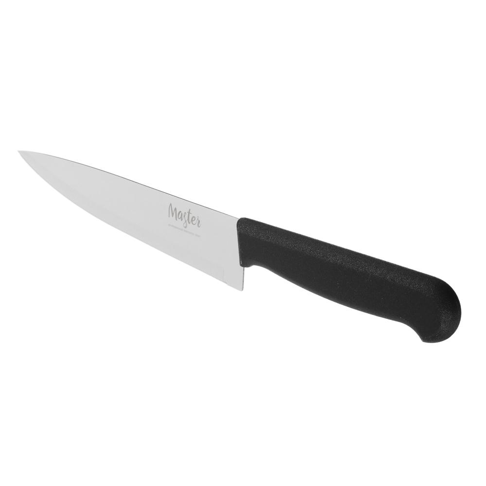 Нож кухонный универсальный 18 см МАСТЕР, пластиковая ручка