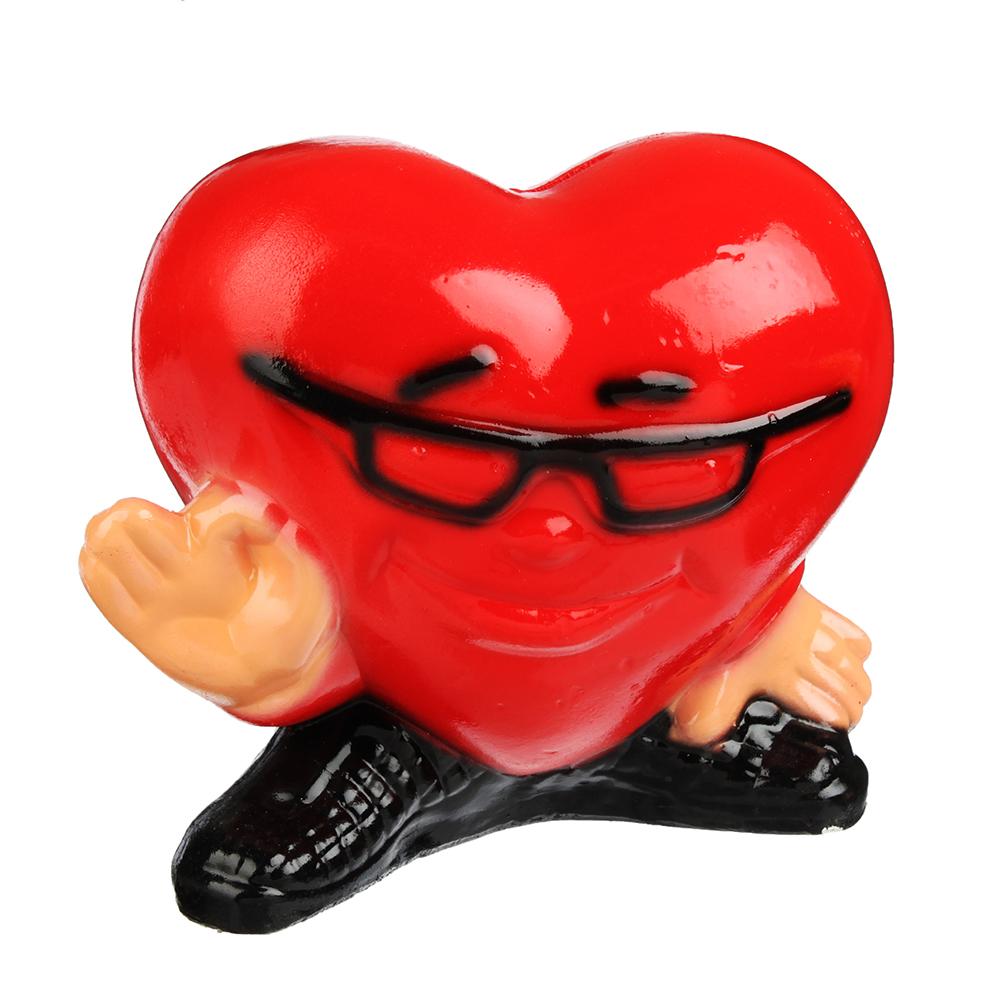 Копилка в виде сердца, 20х17 см, гипс, арт.290