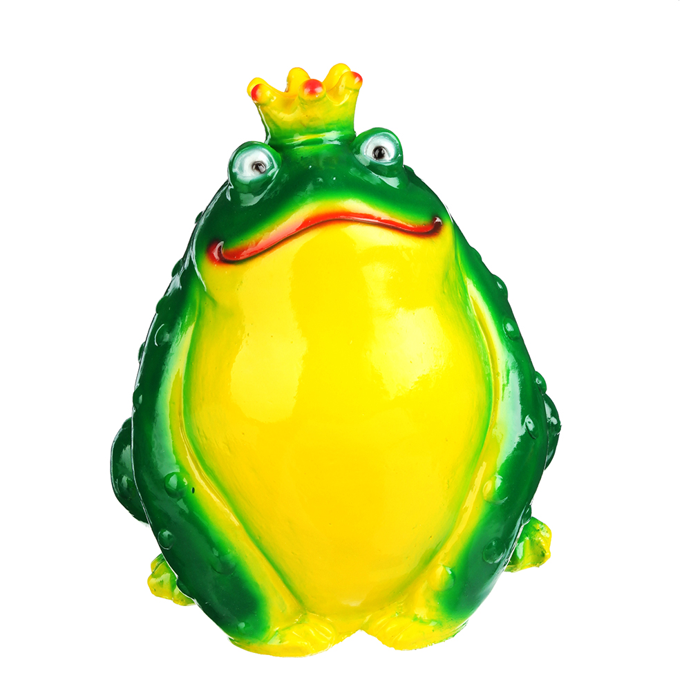 Копилка в виде Царевны-лягушки, 22х20 см, гипс, арт.299