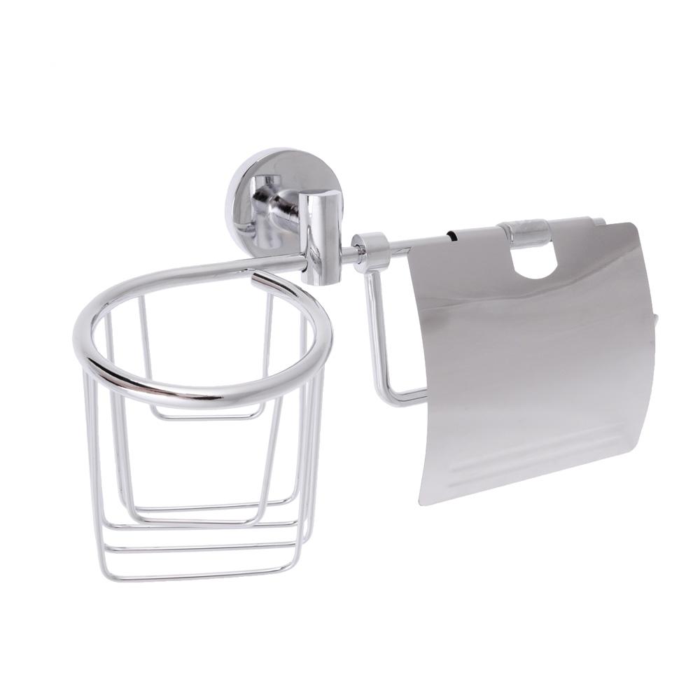 Детжатель для туалетной бумаги с корзиной, SonWelle F-045