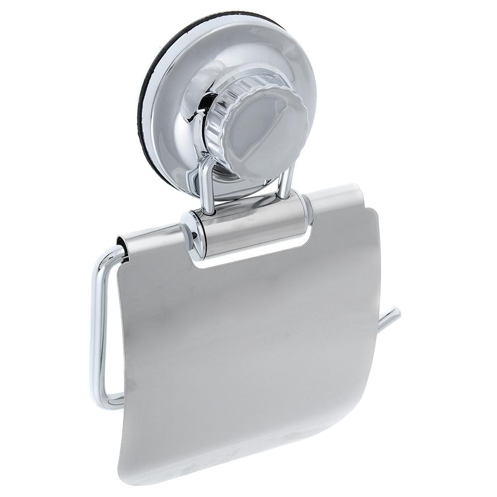 Держатель для туалетной бумаги, хром, вакуумное крепление, SonWelle Вакуум, арт. BIC-0972С