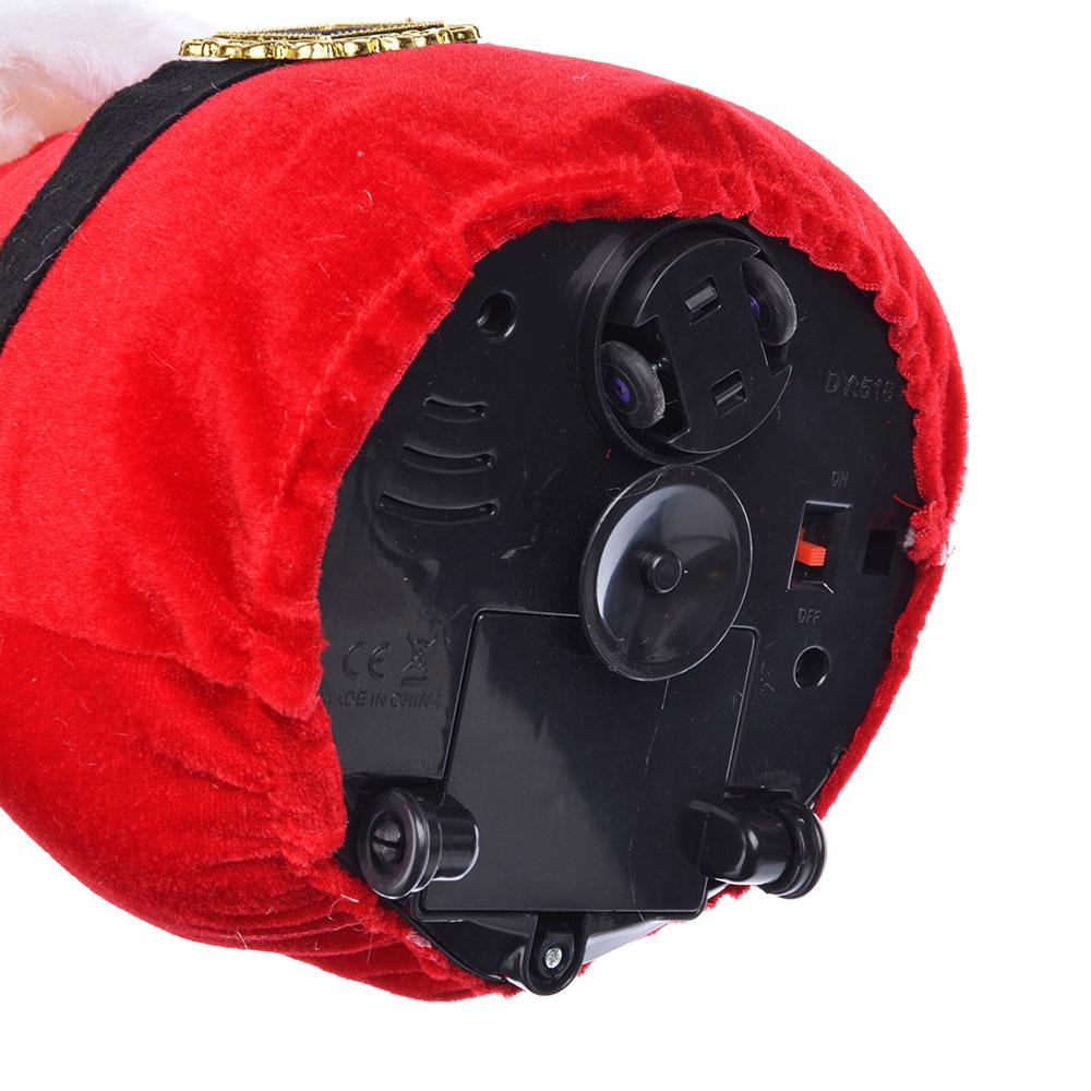 """СНОУ БУМ Музыкальная игрушка """"Дед Мороз"""", поет, танцует, 21x14x40см, 3 х АА"""