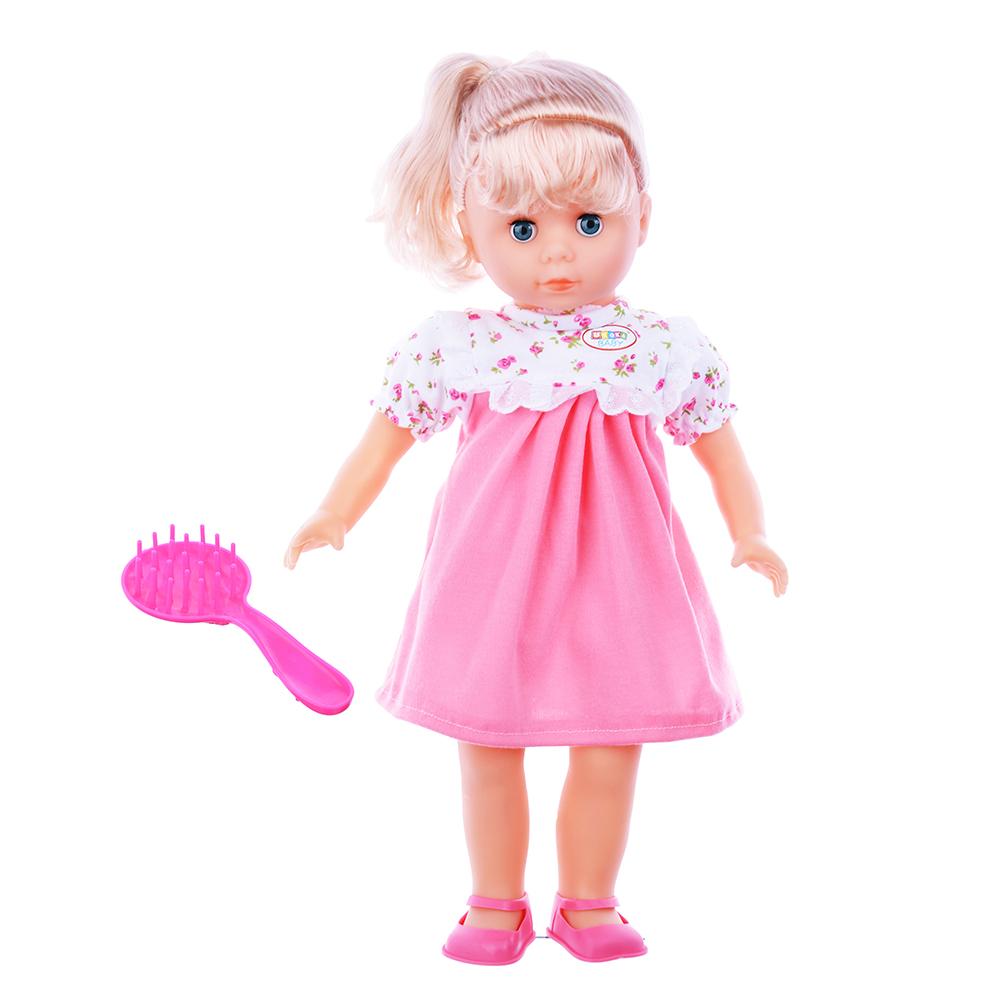 Кукла, 45см, пластик, полиэстер, 2 дизайна