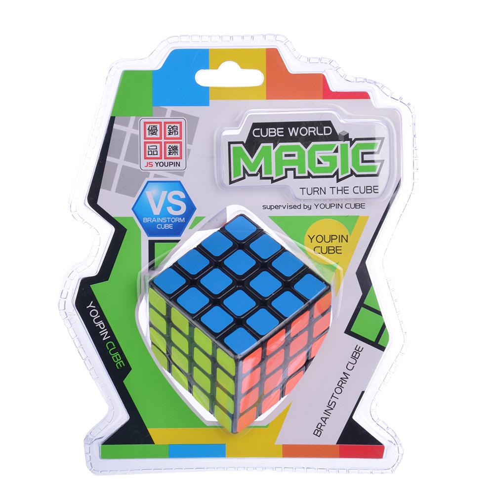 "Кубик-головоломка ""Собери цвета"" черная, пластик, 6,2х6,2х6,2см"