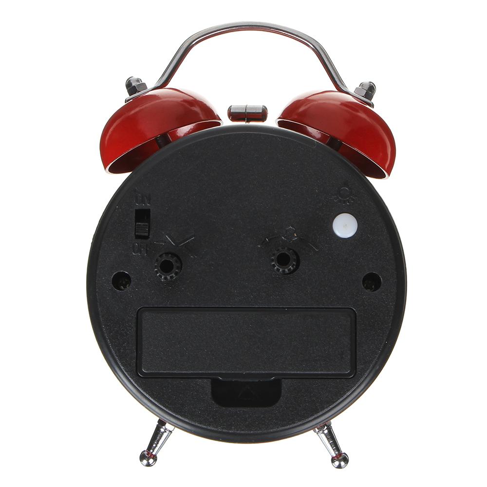 Будильник электронный с сердцем, металл, 12,5х8,2х5,5 см, 1хАА