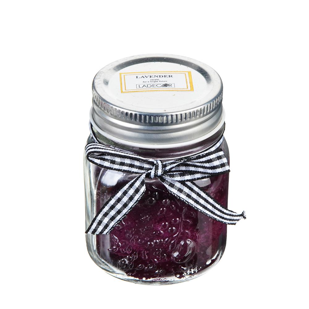 Свеча ароматическая, в стекле, 6х8,3 см, 6 ароматов