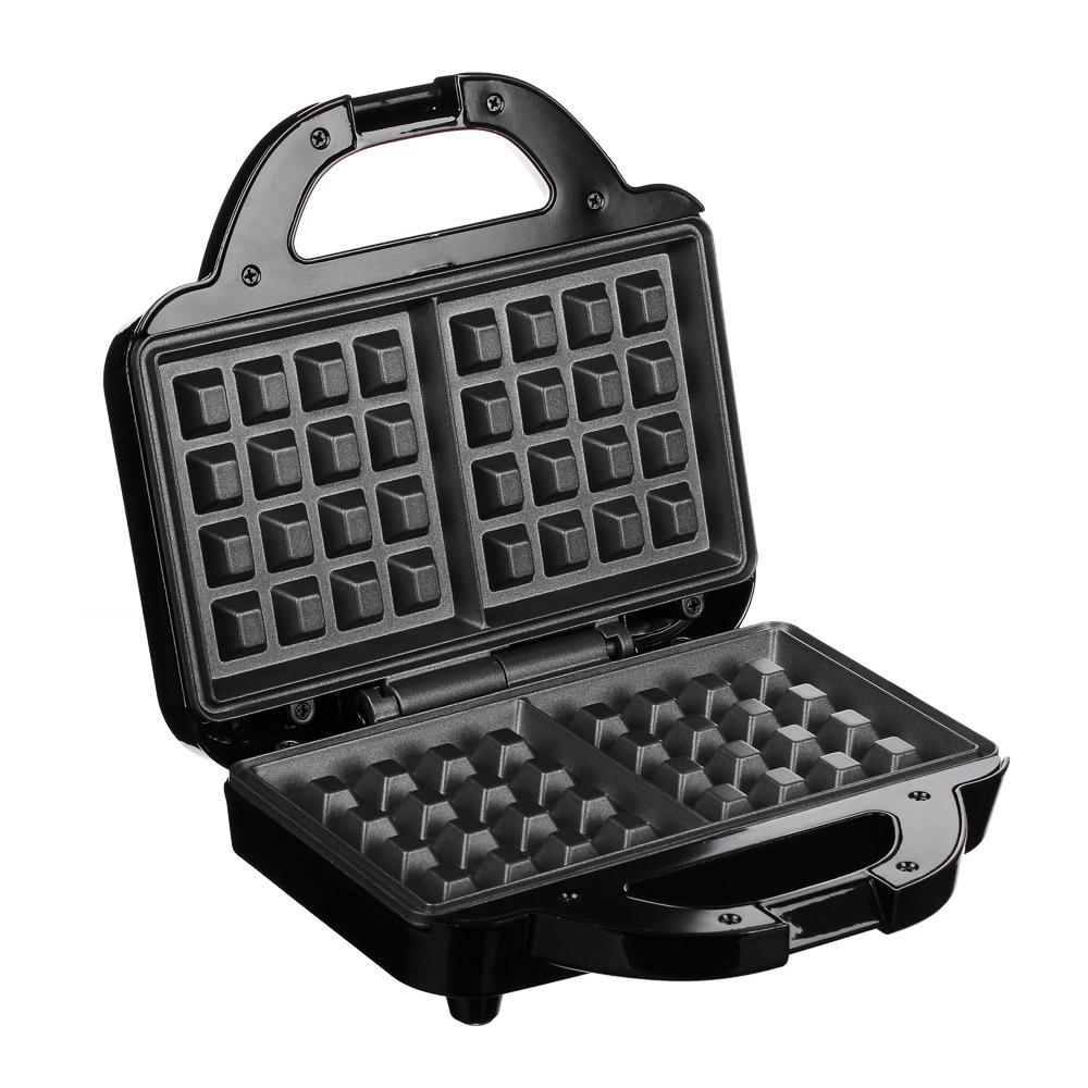Вафельница LEBEN 750 Вт, антипригарное покрытие
