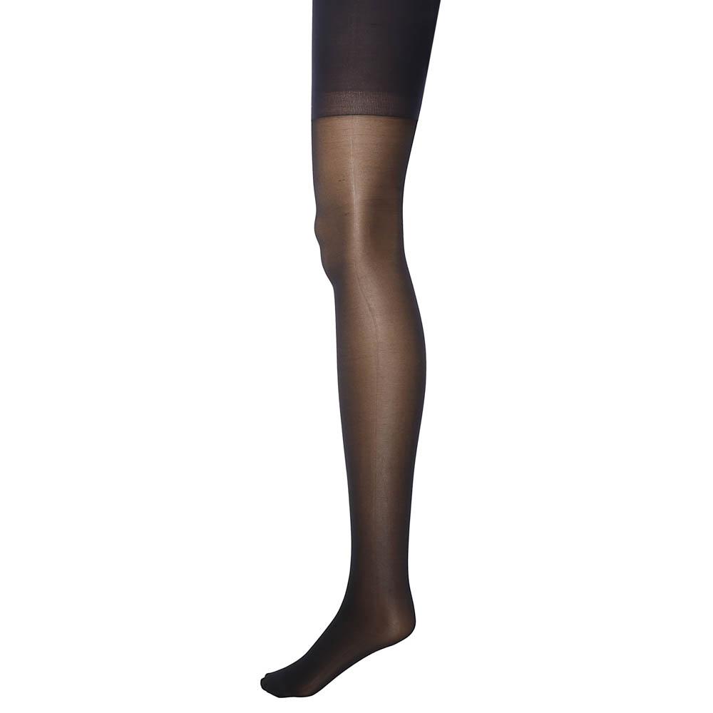 Колготки капроновые женские 40 DEN, размер 1/2,3,4, цвет черный