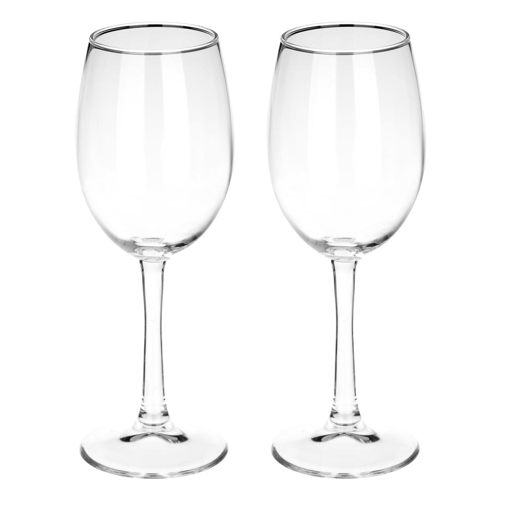 """Набор бокалов для вина 2 шт 360 мл (на длинной ножке), PASABAHCE """"Classique"""" арт.440151B"""