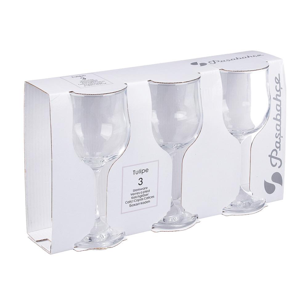 Набор бокалов для вина 3шт., 315 мл, PASABAHCE Tulipe