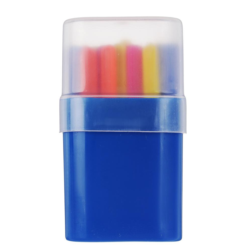 Набор счетных палочек в пенале, 30шт, пластик, 4х7,8х2см, СПК-30