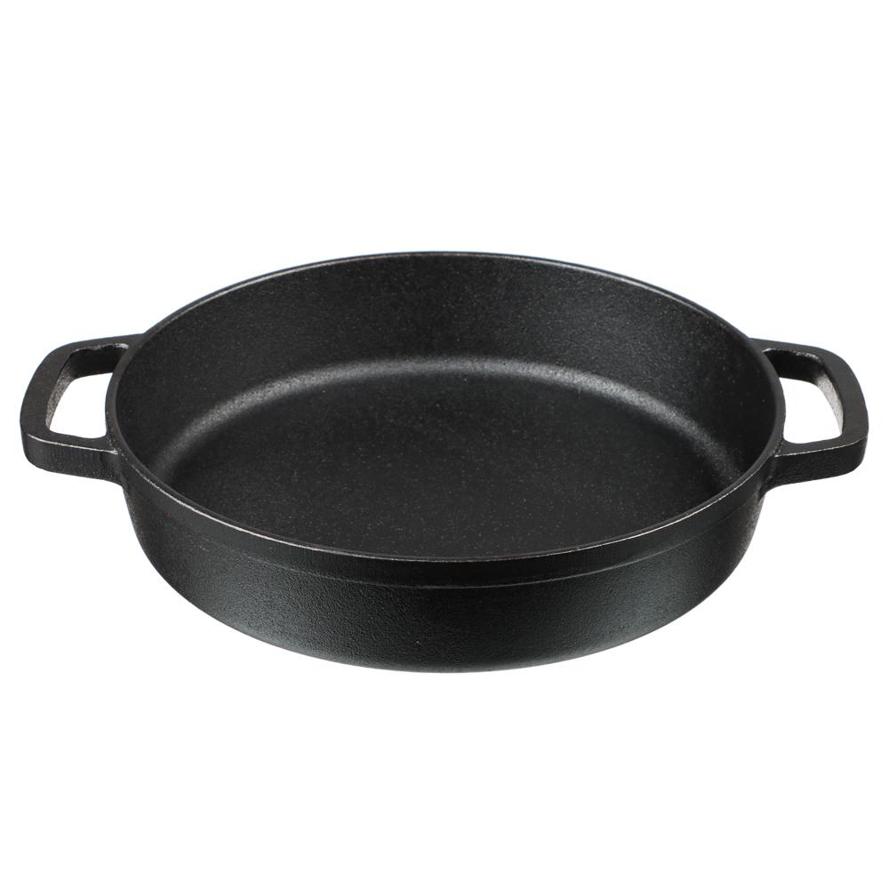 Сковорода-жаровня чугунная VETTA, 24х5 см