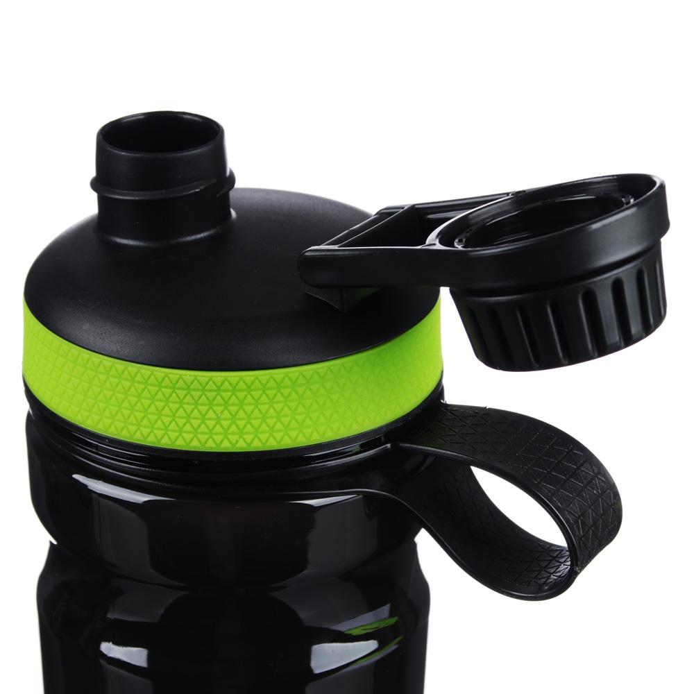 Шейкер для спортивного питания с мешалкой, 22х7 см, 0,6 л, пластик, силикон, SILAPRO