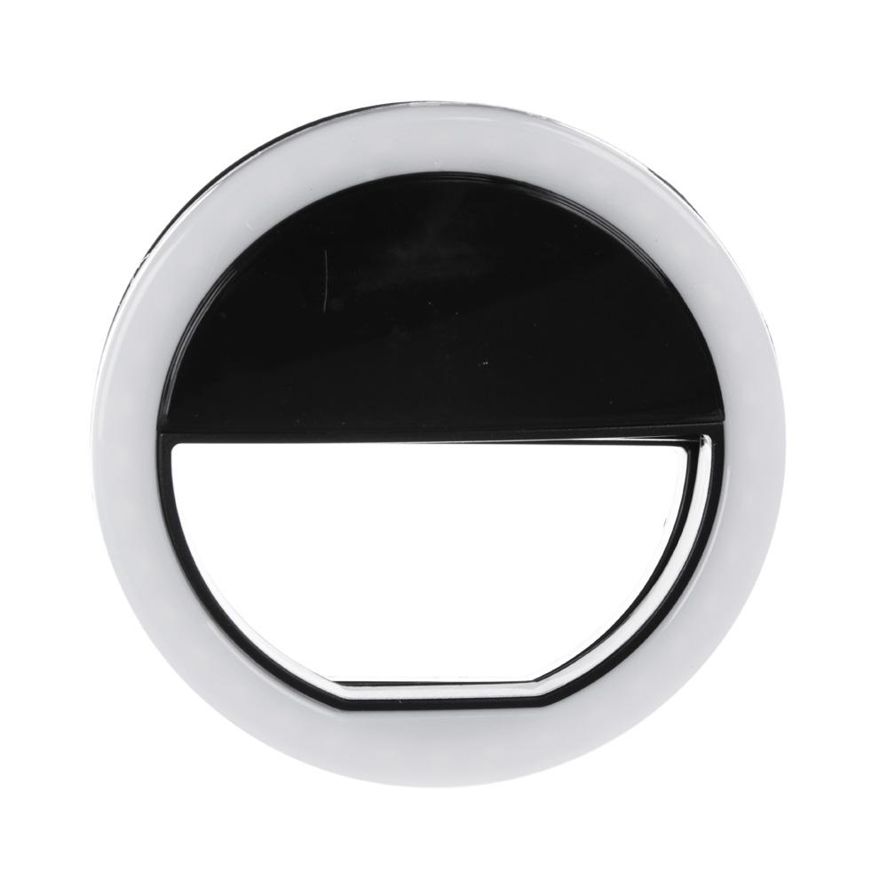 BY Кольцо световое для селфи, пластик, 1 цвет-черный