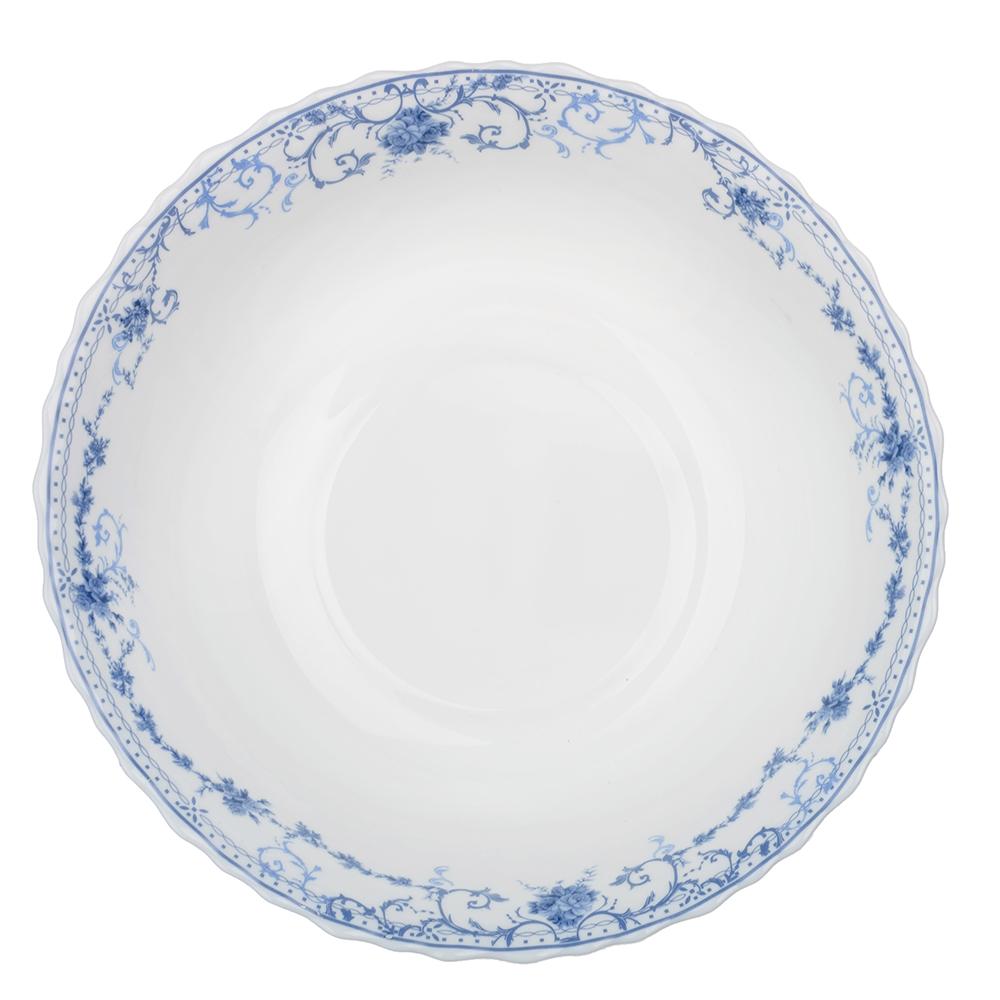 """Салатник d.23 см, опаловое стекло, MILLIMI """"Ариадна"""""""